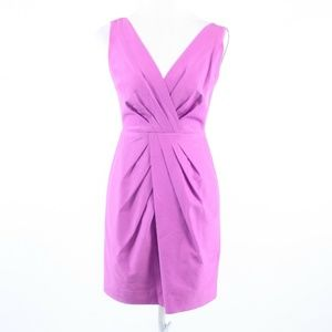 Light purple cotton BANANA REPUBLIC sheath dress 2